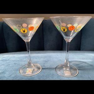 Playboy Martini Bunny in Dots Glasses Circa 2000